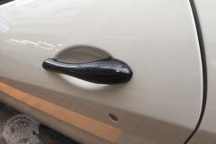 グロスカーボン ウエットカーボン クレイジーカーボン カーラッピング ドアハンドル 東京
