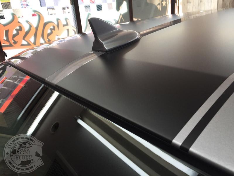 マットブラック ダッジ ストライプ ライン コーティング 東京