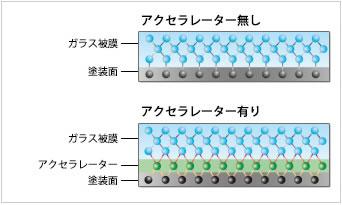 アクセラレーター エシュロン 撥水 ガラスコーティング 東京 台東区