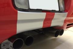 レーシングストライプ コルベット カーラッピング 東京 ラインステッカー